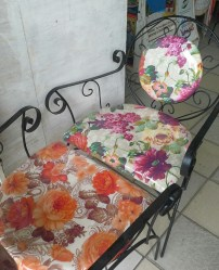 Very floral chairs