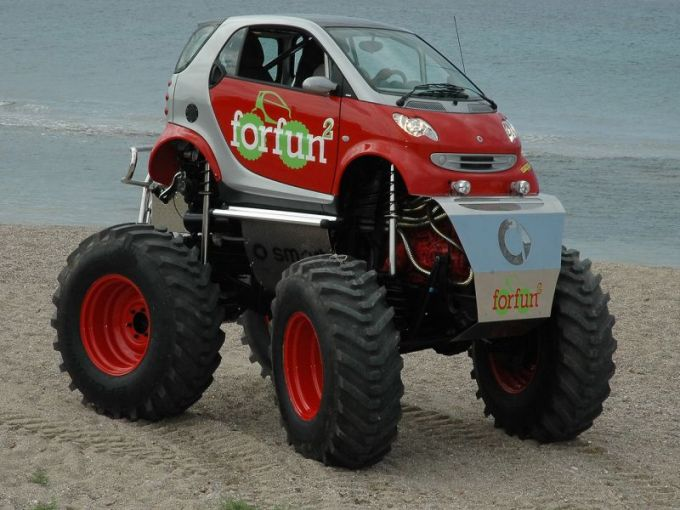 The Smart Car Monster Truck  Finally    Telstar Logistics It s no secret that Telstar Logistics has a hankering for a SmartCar  but  it s also no secret that we appreciate robust 4x4 capability as well