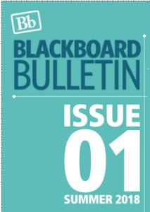 Image of Blackboard newsletter cover