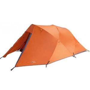 lækkert orange telt som illustere vandreshoppens billige telte af høj kvalitet