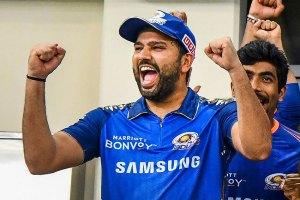 IPL 2021: MI captain Rohit Sharma signs DC pacer Avesh Khan's jersey
