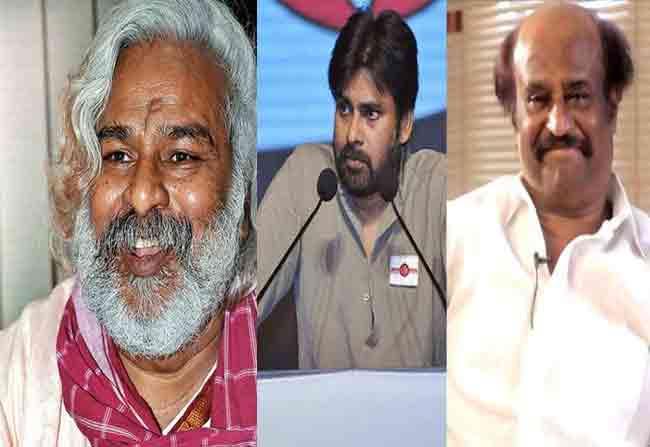 Gaddar Wants Pawan And Rajinikanth For South India Self Respect