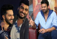 bollywood heros are calls SIR to prabhas in Karan Johar party