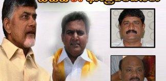 chandrababu fires on ganta and ayyanna patrudu about vizag land scam