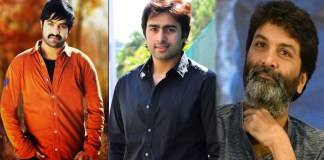 is nara rohith play special role in ntr and trivikram movie