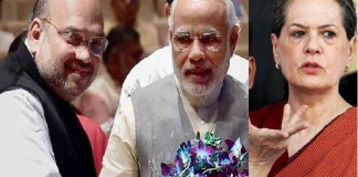 sonia gandhi angry on modi and amit shah about Indian president candidate
