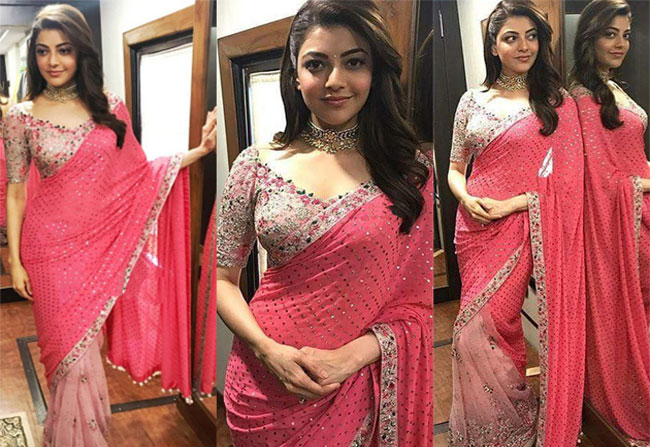 kajal agarwal new look in MLA movie