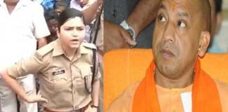 bjp cm yogi transfered sinsere police officer sreshte takur