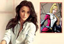 Amy jackson to do in american super girl tv serial