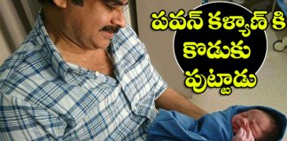 pawan kalyan anna lezhneva blessed with Baby Boy