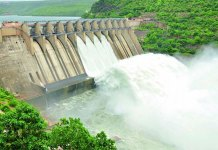 water released from srisailam Nagarjuna Sagar and Pulichintala projects