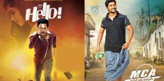 Box Office War Between Akhil Hello and Nani MCA