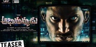 Abhimanyudu movie Teaser