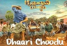 Krishnarjuna Yuddham movie Dhaari Choodu Full Song released