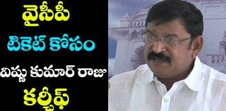 Vishnu Kumar Raju comments on YSRCP MLAs who joined TDP