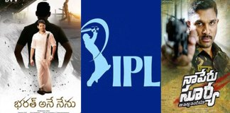 tollywood movies and ipl both are release same time