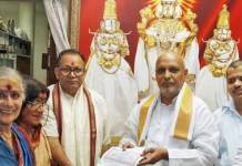 IYR Krishna Rao send notices Central Govt to take over TTD Temples