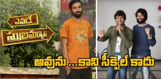nag ashwin clarity about yevade subramanyam movie sequel