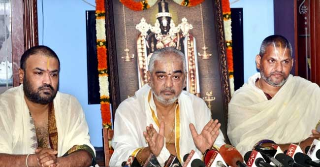 venugopal dikshituluabot TTD Chief Priest AV Ramana Deekshithulu
