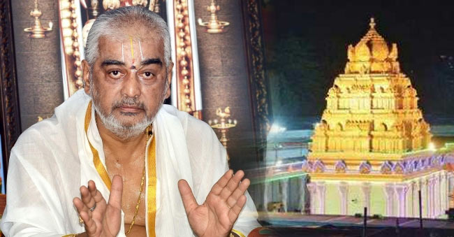 Ramana Deekshithulu Responds on Tirumala Temple