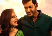 Vishal Is Happiness And Also Sad because Abhimanyudu Movie
