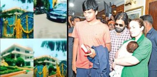 akira nandan and pawan kalyan at rented house