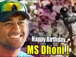 Cricketers and Celebrities Birthday wishes to MS Dhoni