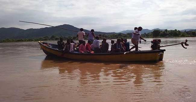 another boat accident At Srikakulam