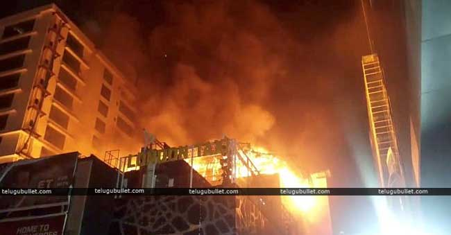 Fire accident at crystal tower mumbai