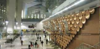 power bank blast in delhi airport