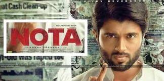 Vijay Devarakonda Playing Cm Role In Nota