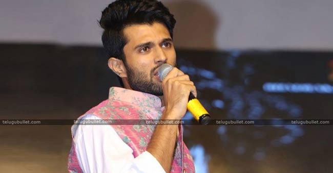 Vijaydevarakonda Started With Three Languages Movie