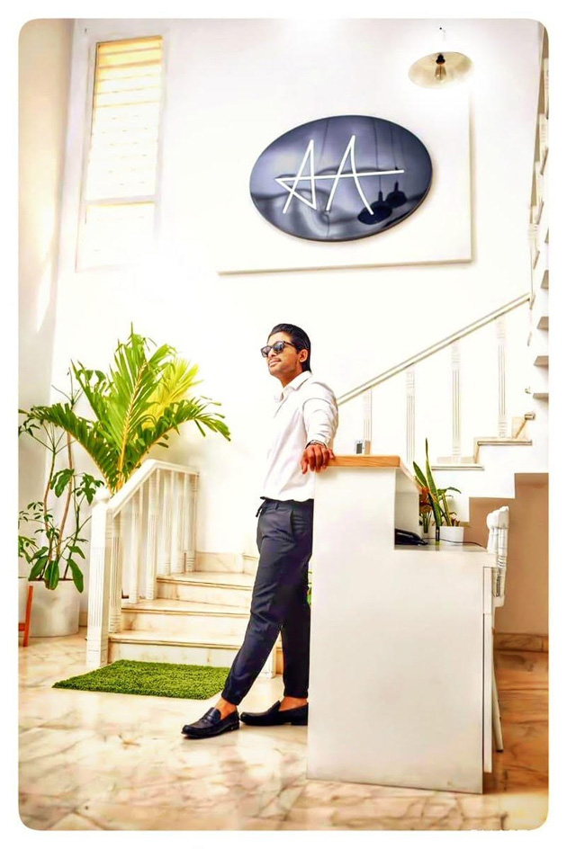 Allu Arjun New office