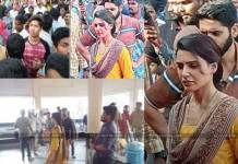 naga chaitanya and samantha in simhachalam