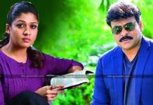 Nayanthara To Pair Up With Chiranjeevi Again