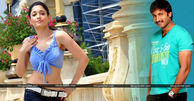 Gopichand And Tamannaah To Team Up For 'Tiger Zinda Hai' Telugu