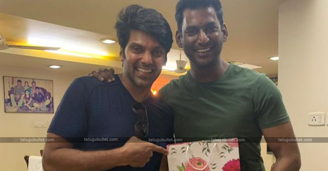 Vishal Gets Surprise With Aryas Wedding Card