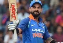 kohli created thenew world record