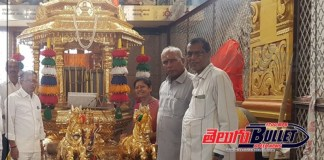 the golden chariot for yadadri laxmi narasimha swamy