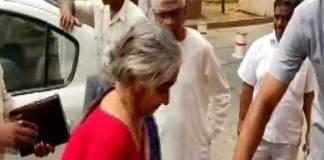 nirmala seetharaman parents in parliament