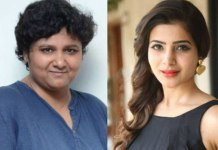 samantha with director nandini reddy