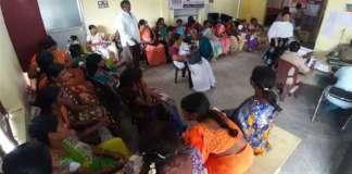 Asha workers chalo Vijayawada ..police prevention