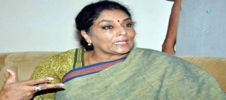 renuka chowdary comments on khammam seat