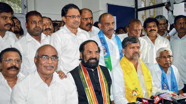 all parties demands action on jagadish reddy