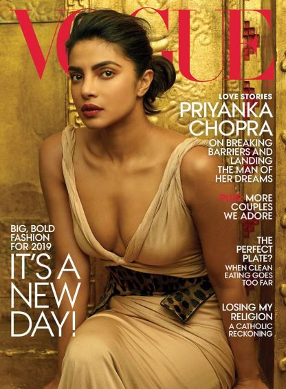 priyanka still for vogue