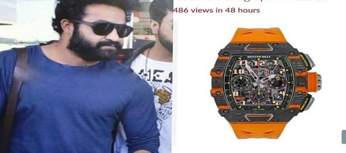 junior ntr watch cost