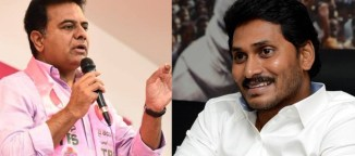 ktr comments on jagan