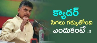 telugudesamparty cadre in angry