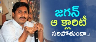 y.s.jaganmohanreddy clarity on alliance