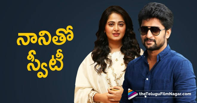 Nani To Team Up With Anushka Shetty, Anushka Movie With Nani, Nani and Anushka to team up next?, Anushka Shetty Upcoming Telugu Movie, Nani and Chandra Sekhar Yeleti Movie Heroine, Telugu FilmNagar, Telugu Cinema News, Latest Movie Updates 2018,